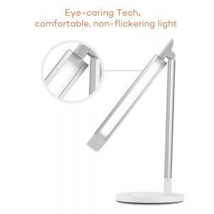 Lampe de bureau TaoTronics: 7 niveaux de luminosité