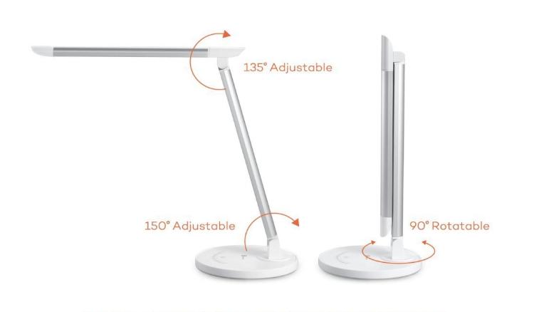 Avis et Test de la lampe de bureau LED TaoTronics TT-DL13 : tout savoir